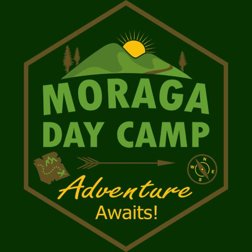 Moraga Day Camp Logo 2020 - Adventure Awaits!